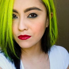 Girls Out West Green Hair